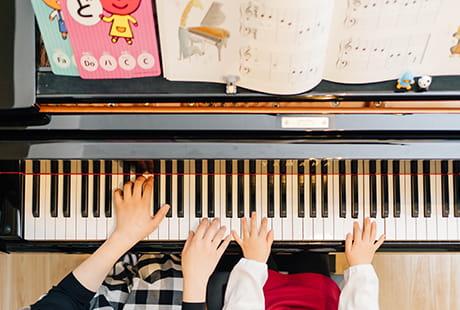 ピアノの基礎から質の高い指導を