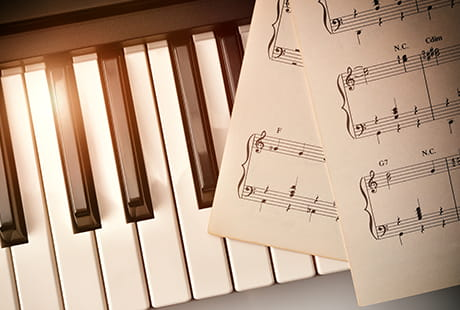 調性や楽語の意味を理解し正しく弾く